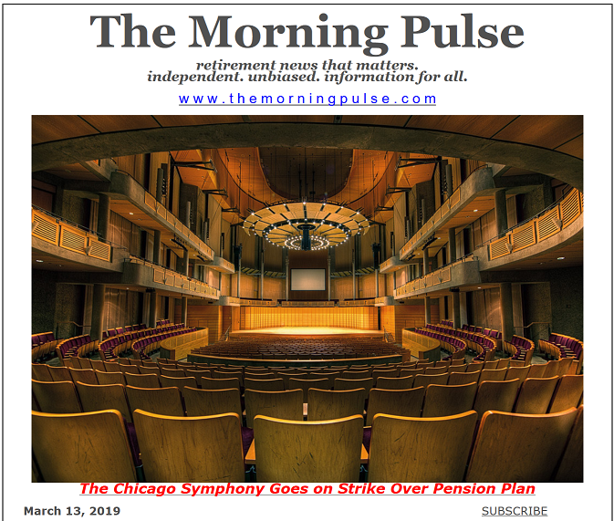The Morning Pulse – March 13, 2019