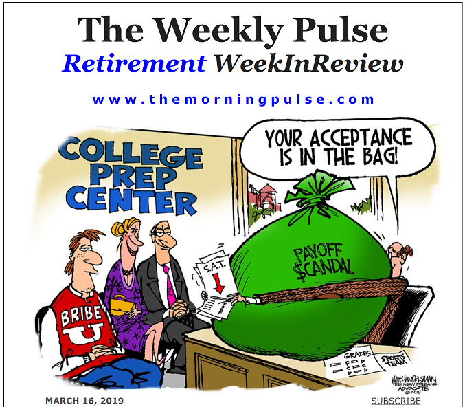 The Weekly Pulse – March 16, 2019
