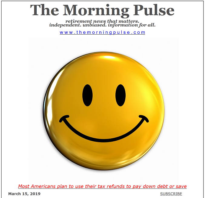 The Morning Pulse – March 15, 2019