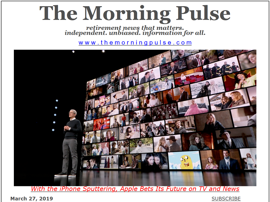 The Morning Pulse – March 27, 2019