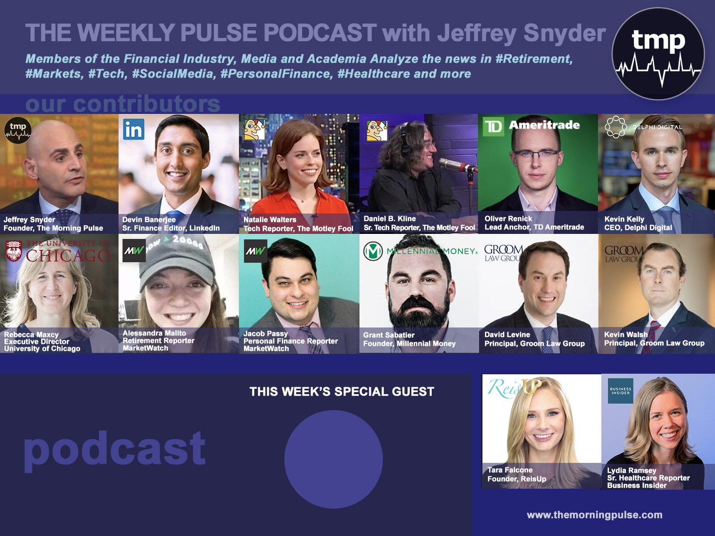 (Podcast) 5/5/2019 In this episode: (1) Road trip: catching up with singer / songwriter Pentley Holmes, (2) lessons from the Milken Conference and the 'Returnship' for Working Mothers, (3) Netflix cancellations increase and Apple Earnings continue to grow, & more.