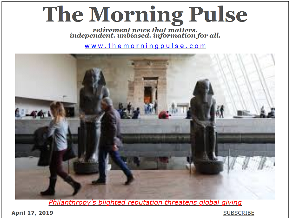 The Morning Pulse – April 17, 2019