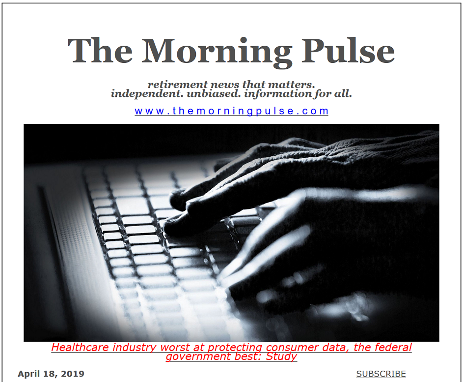 The Morning Pulse – April 18, 2019