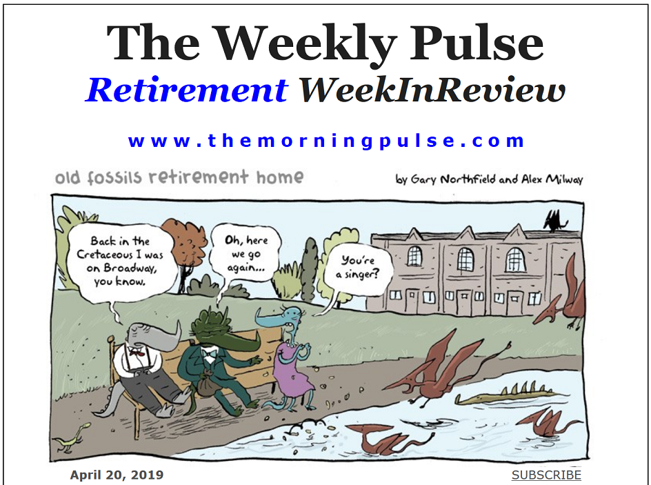 The Weekly Pulse – April 20, 2019
