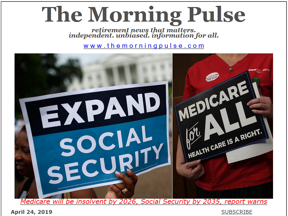 The Morning Pulse – April 24, 2019