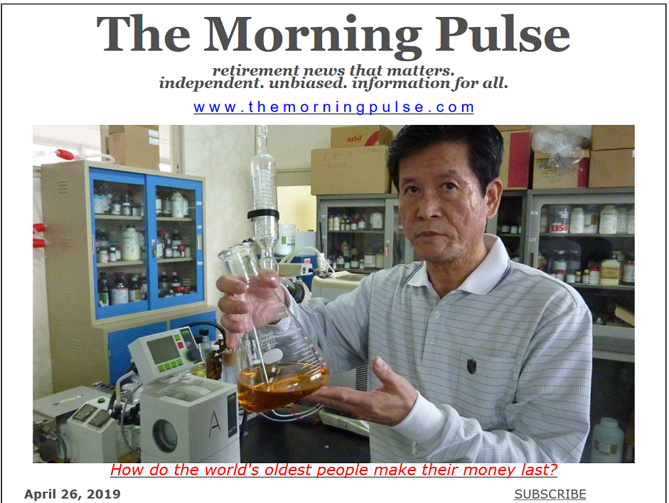 The Morning Pulse – April 26, 2019
