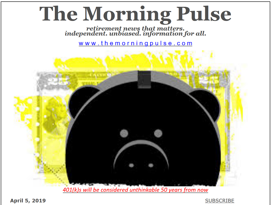 The Morning Pulse – April 5, 2019
