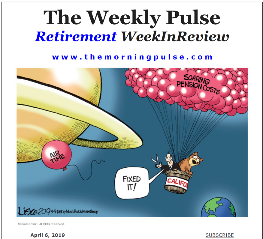 The Weekly Pulse – April 6, 2019