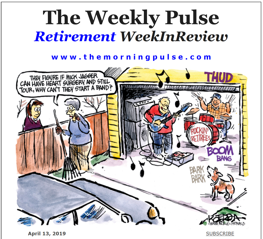 The Weekly Pulse – April 13, 2019
