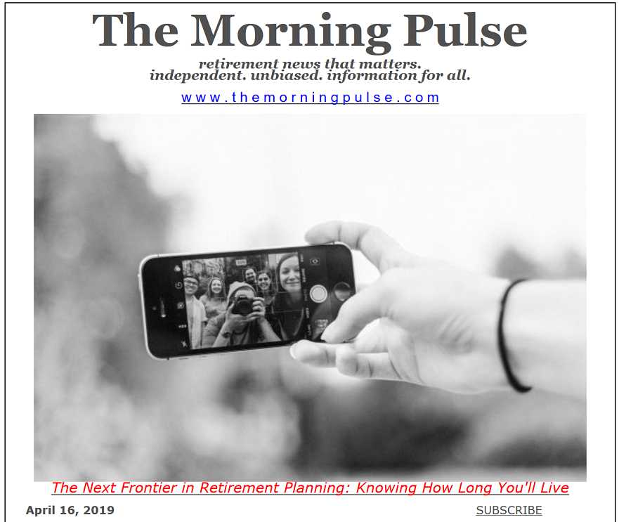 The Morning Pulse – April 16, 2019