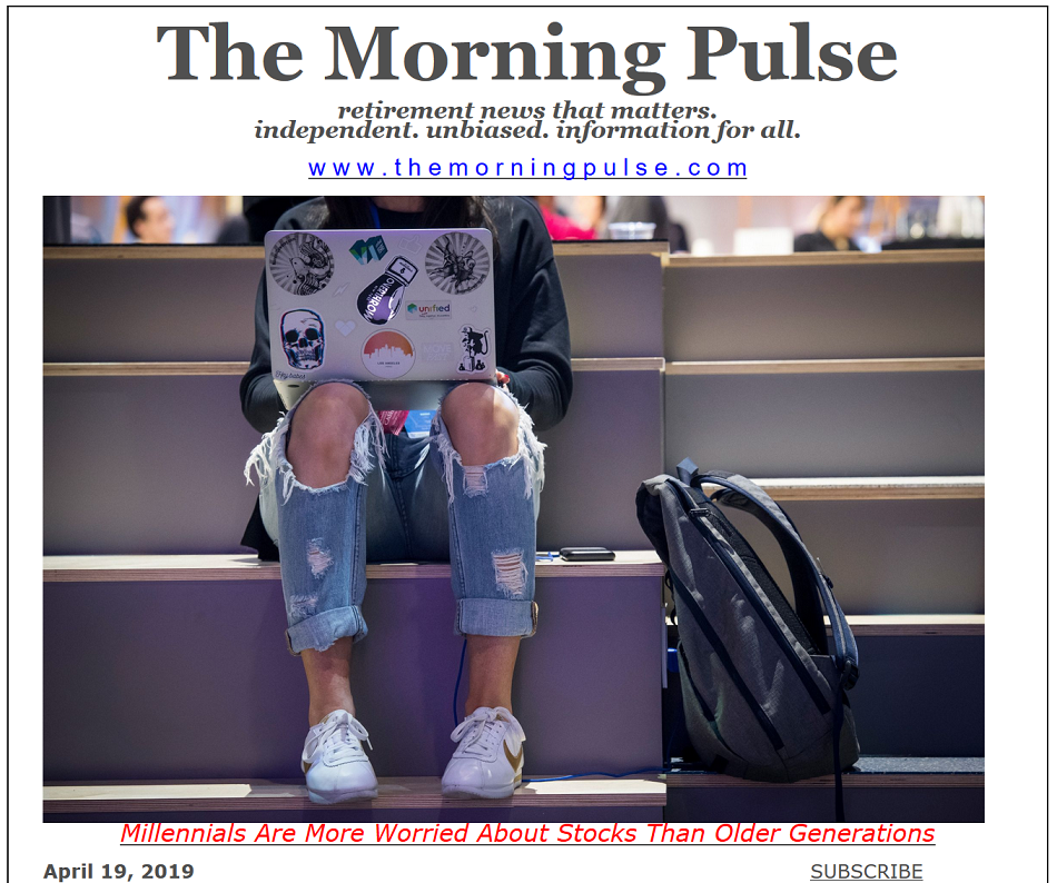 The Morning Pulse – April 19, 2019