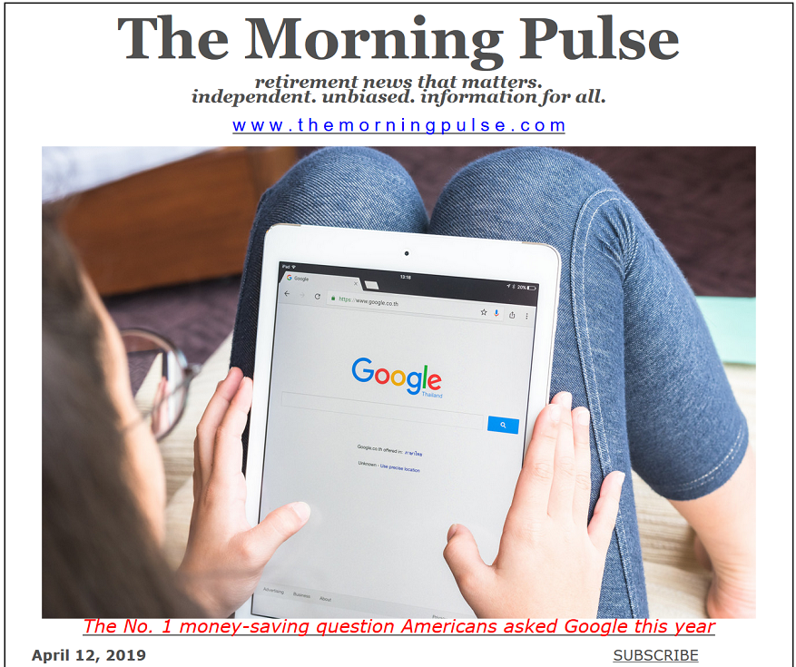 The Morning Pulse – April 12, 2019