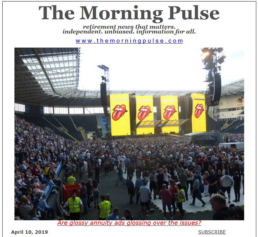 The Morning Pulse – April 10, 2019