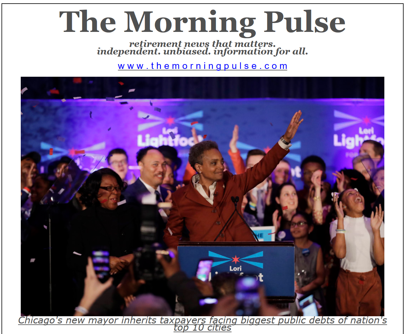 The Morning Pulse – May 21, 2019