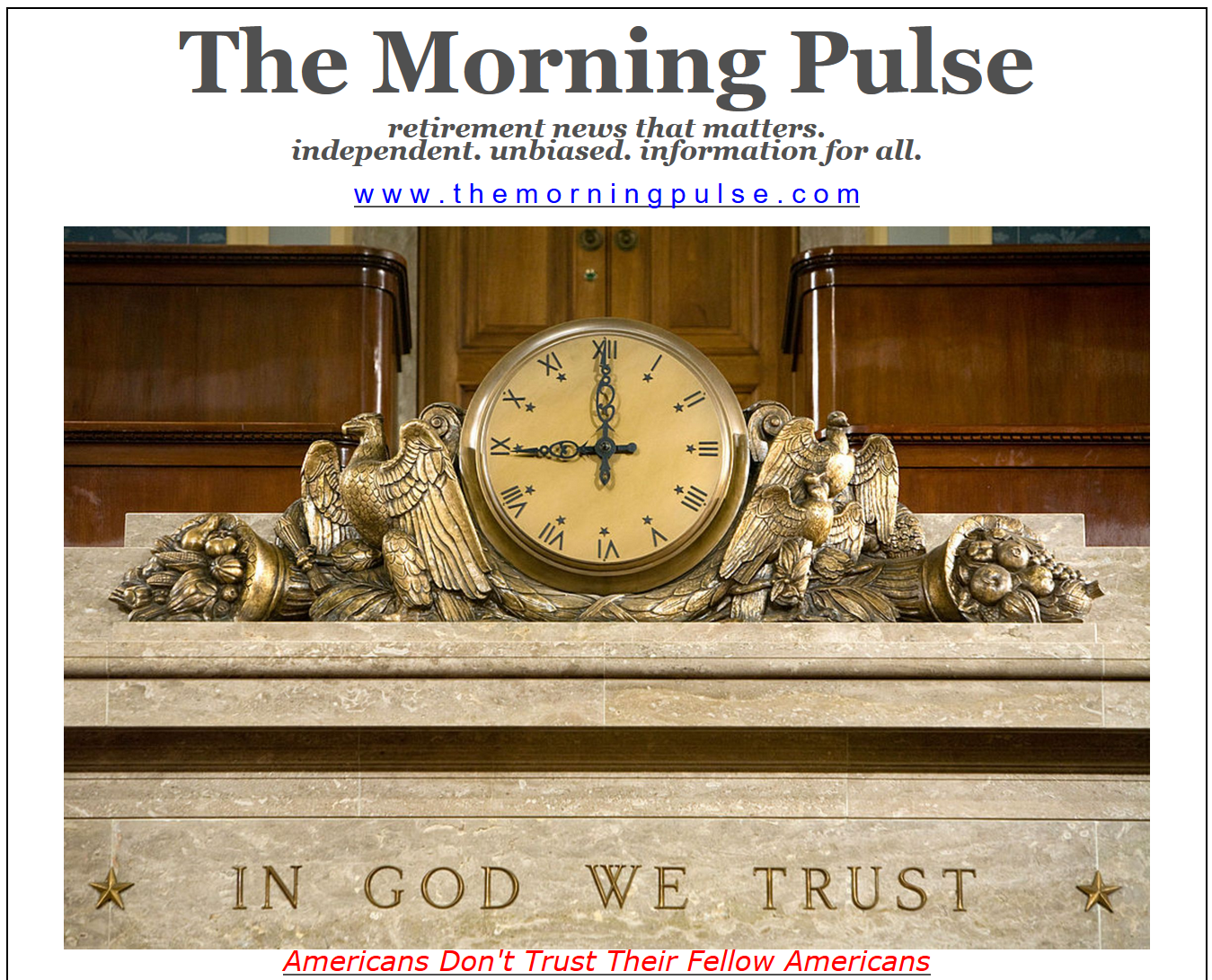 The Morning Pulse – May 8, 2019