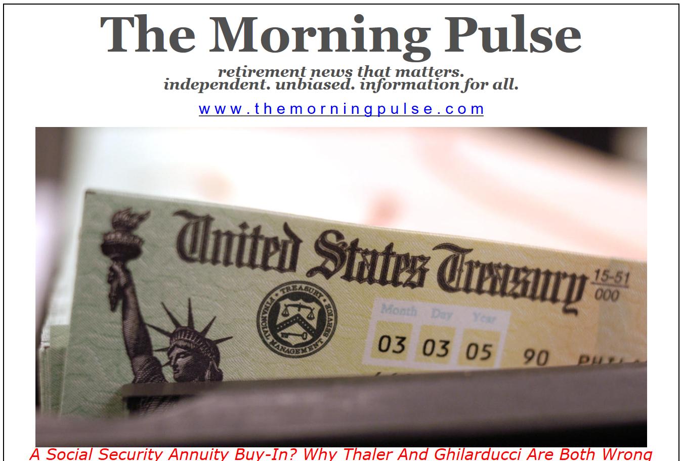 The Morning Pulse – May 3, 2019