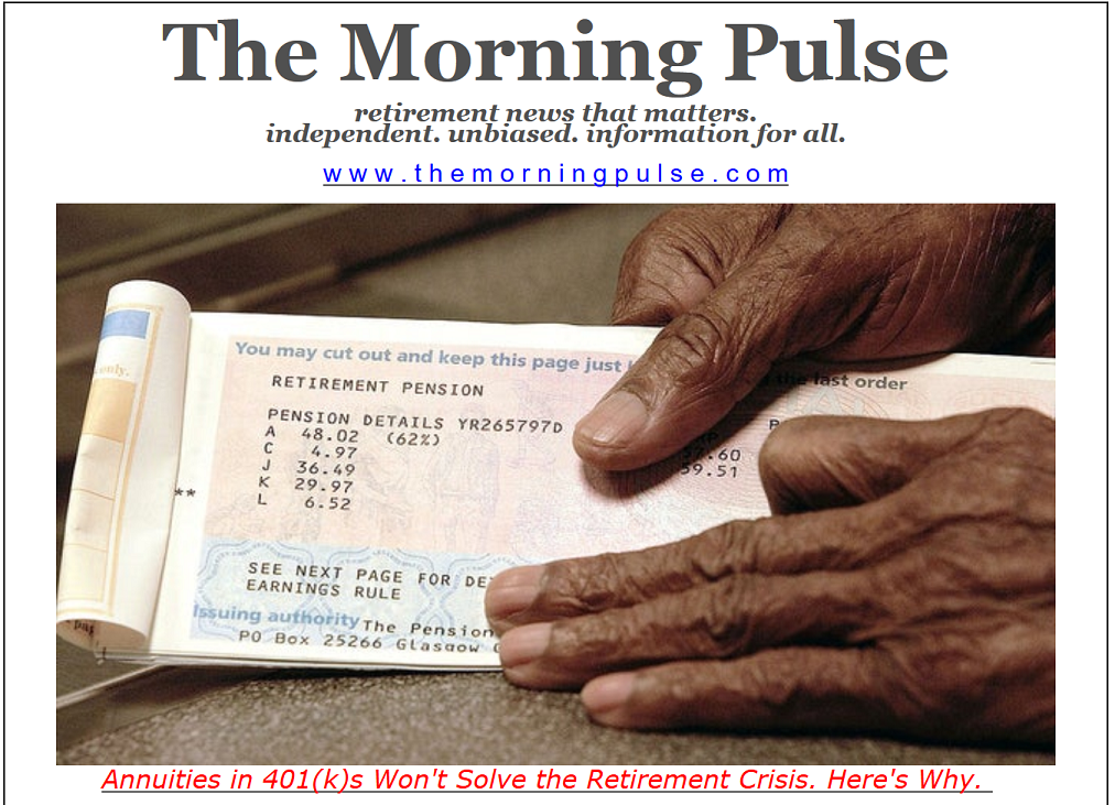 The Morning Pulse – July 1, 2019