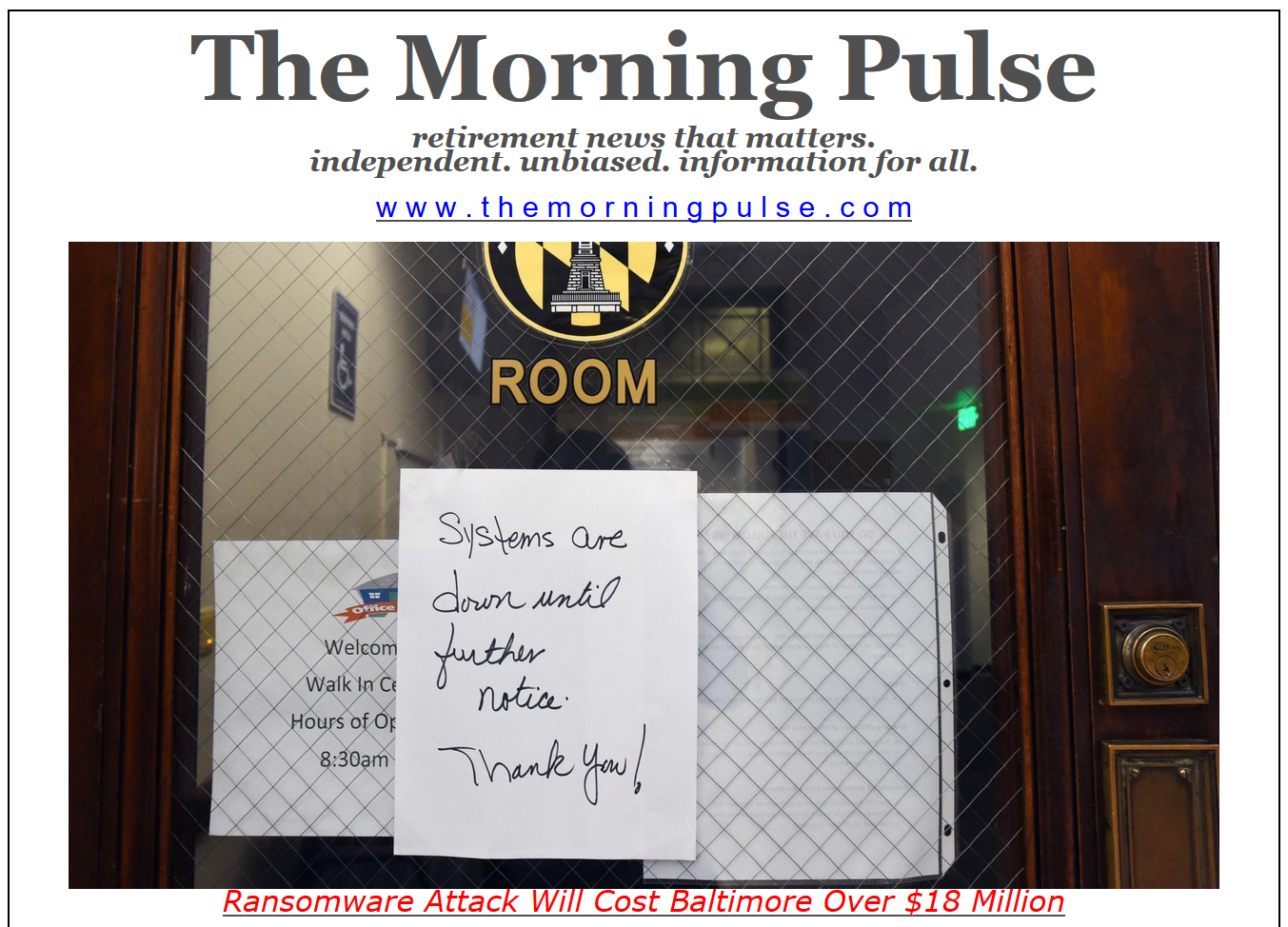 The Morning Pulse – June 6, 2019