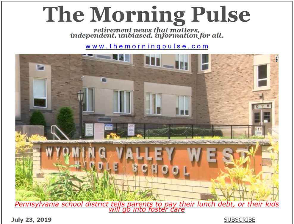 The Morning Pulse – July 23, 2019