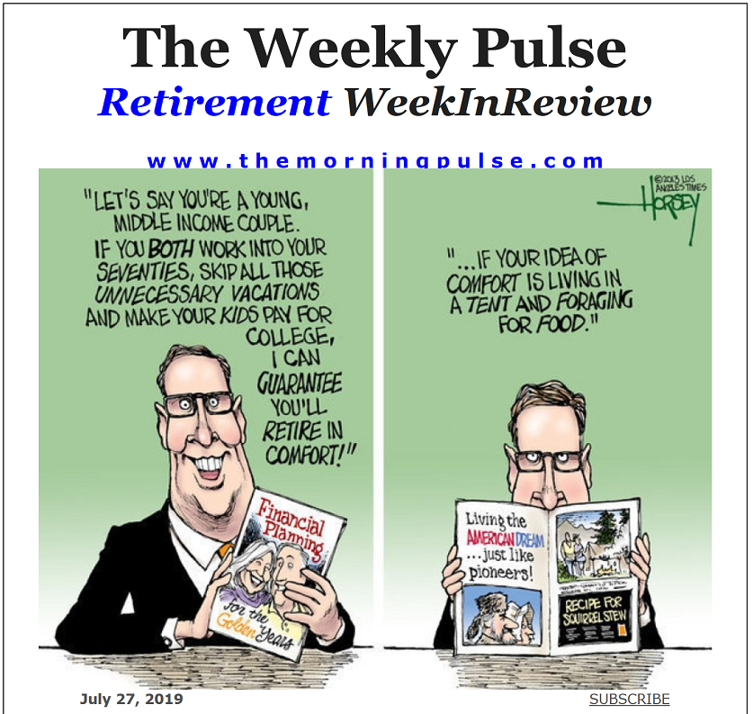 The Weekly Pulse – July 27, 2019
