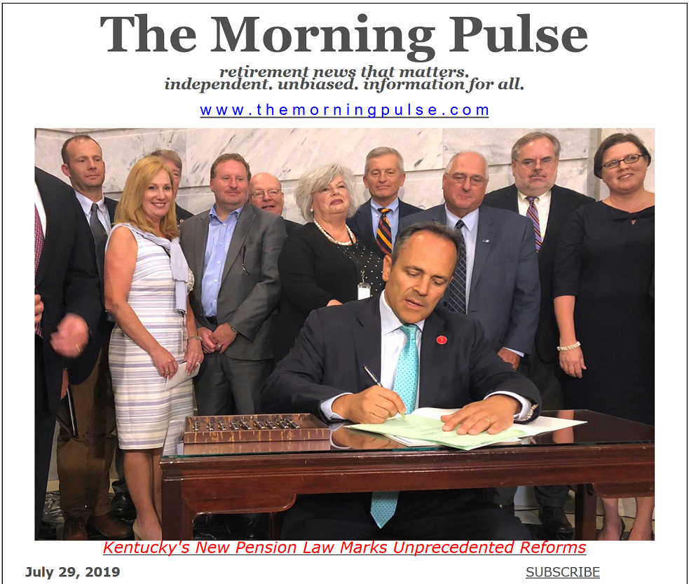 The Morning Pulse – July 29, 2019