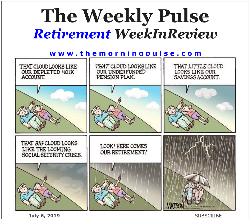 The Weekly Pulse – July 6, 2019