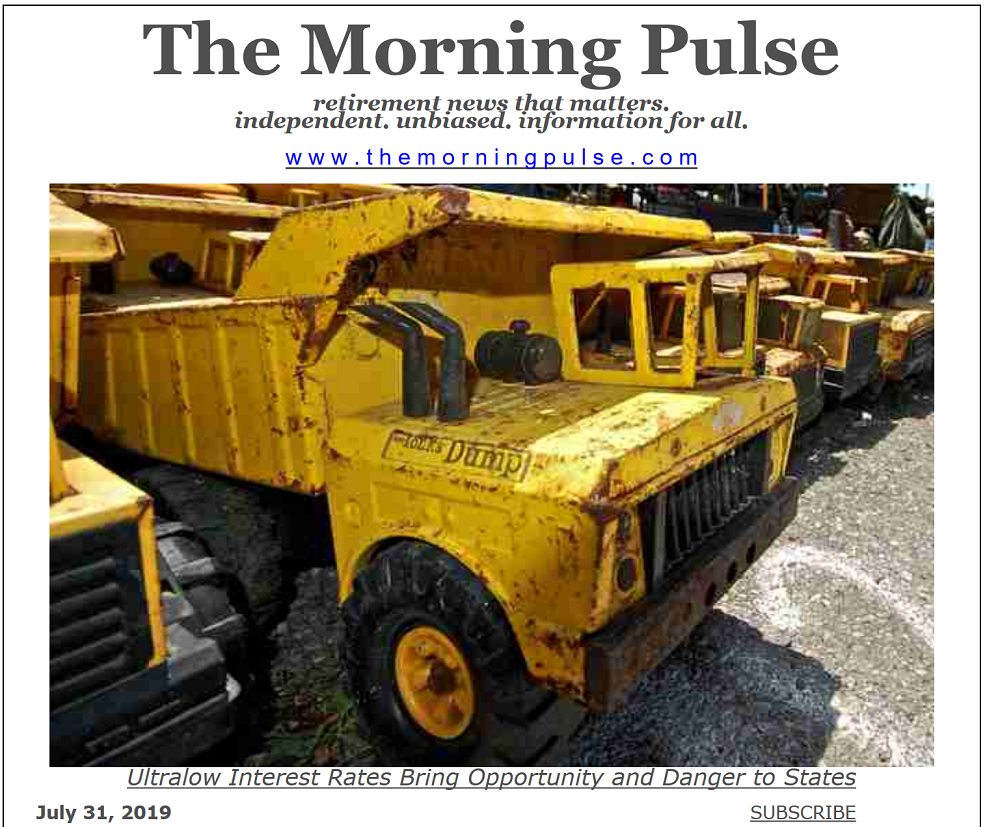The Morning Pulse – July 31, 2019