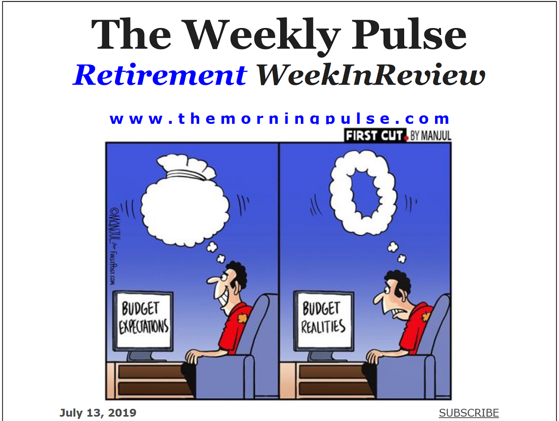 The Weekly Pulse – July 13, 2019