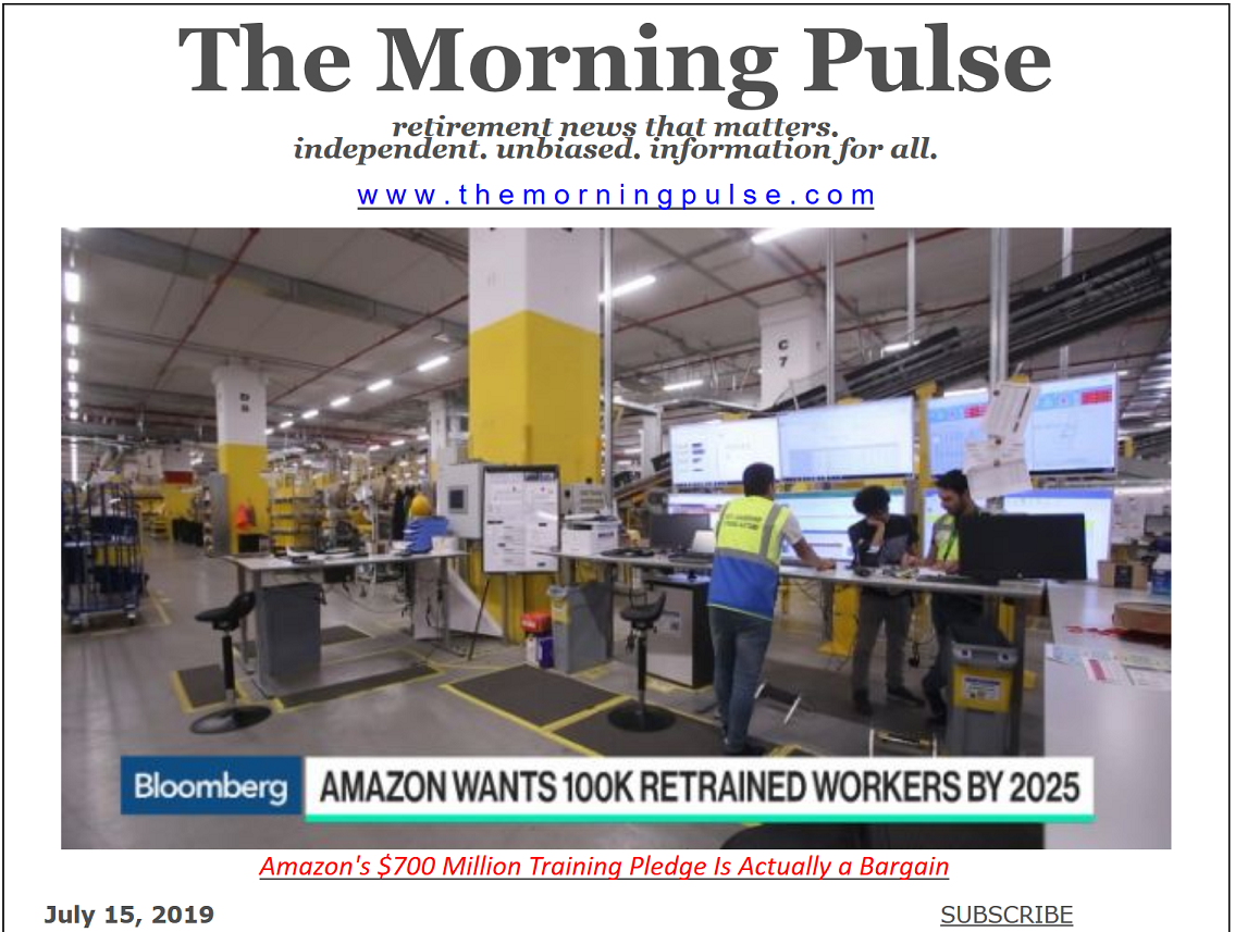 The Morning Pulse – July 15, 2019
