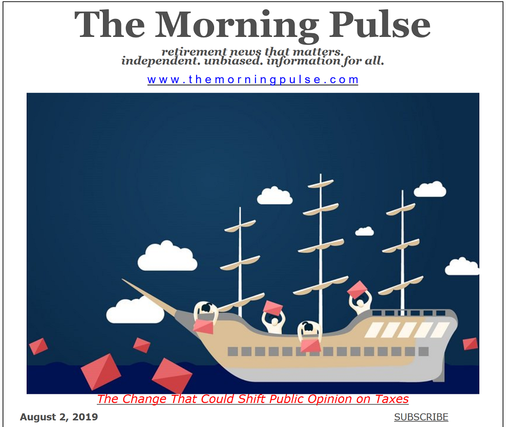 The Morning Pulse – August 2, 2019