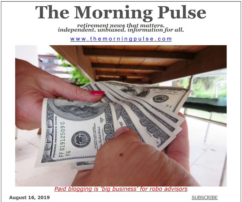 The Morning Pulse – August 16, 2019