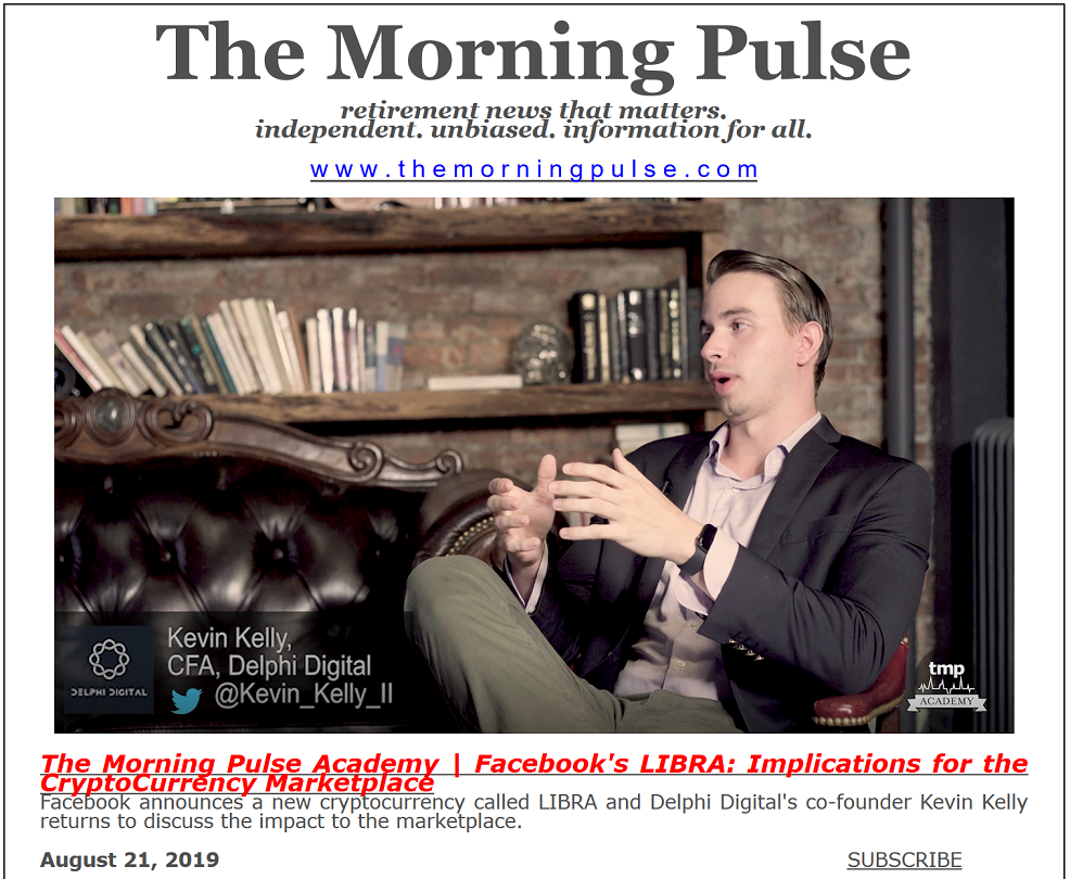 The Morning Pulse – August 21, 2019