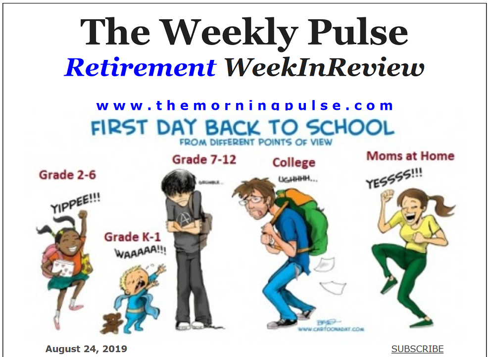 The Weekly Pulse – August 24, 2019