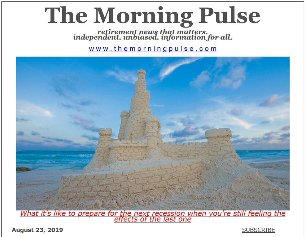 The Morning Pulse – August 23, 2019