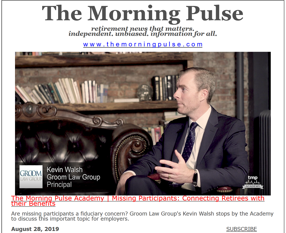 The Morning Pulse – August 28, 2019