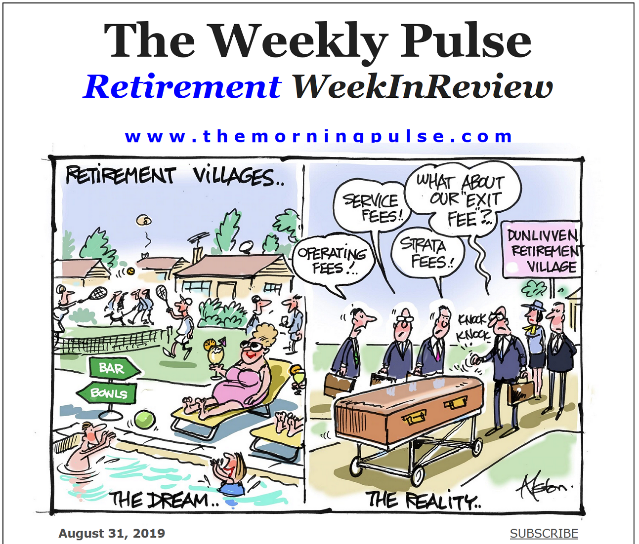 The Weekly Pulse – August 31, 2019
