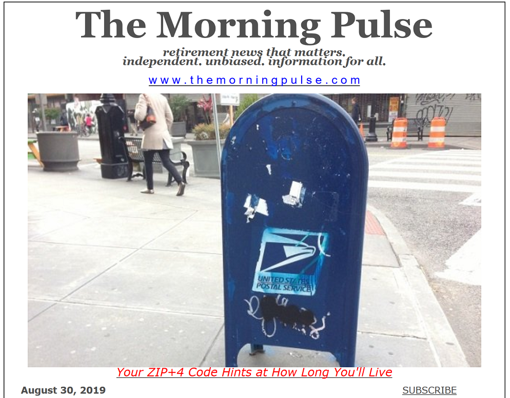 The Morning Pulse – August 31, 2019