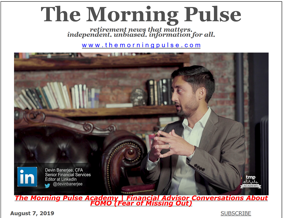 The Morning Pulse – August 7, 2019