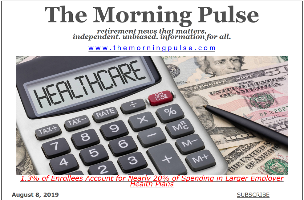 The Morning Pulse – August 8, 2019