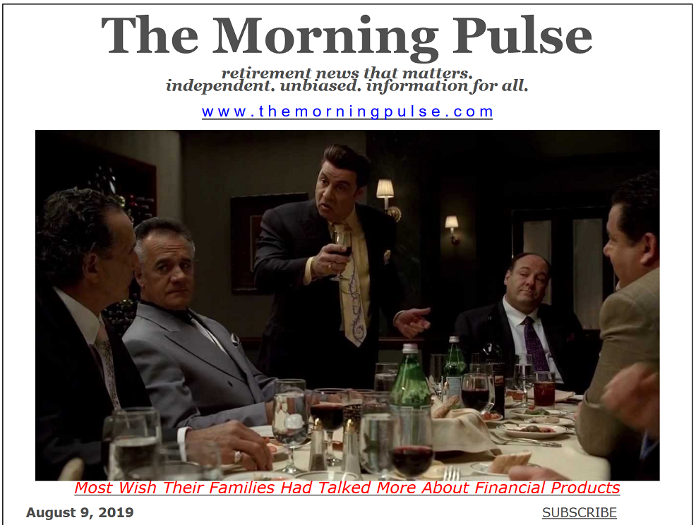 The Morning Pulse – August 9, 2019