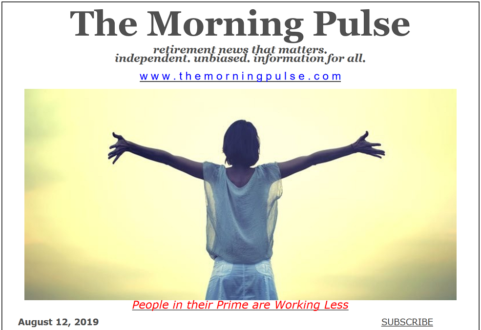 The Morning Pulse – August 12, 2019