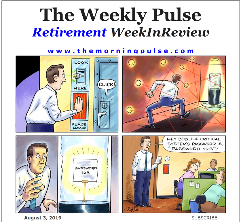 The Weekly Pulse – August 3, 2019