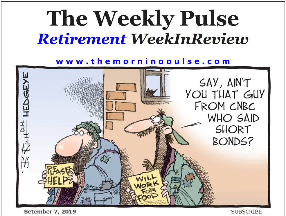 The Weekly Pulse – September 7, 2019