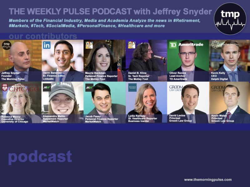 (Podcast) 10/13/19 In this episode: (1) The SEC looks in to governmental retirement plans – what's it all mean?, (2) Index fund growth – how do they vote their proxies?, (3) Target to Power a Toys R' Us shopping experience, and more.