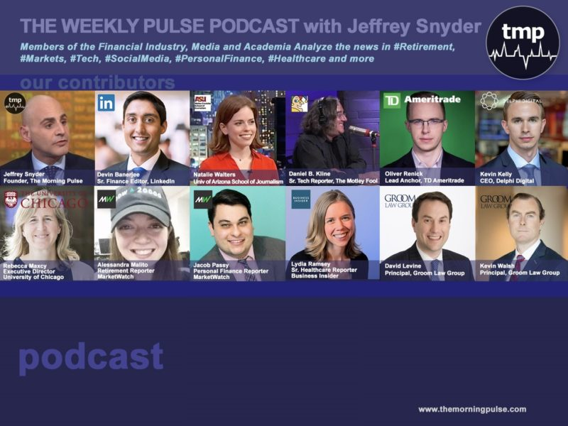 (Podcast) 9/22/2019 In this episode: (1) 12 industries that  will thrive with millennials and the 50 best jobs in America, (2)  Walmart opens its first health clinic, (3) Walgreens and Alphabet's Wing  Will Pilot On-Demand Drone Delivery Service Next Month,& more.