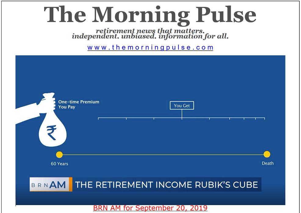 The Morning Pulse – September 20, 2019