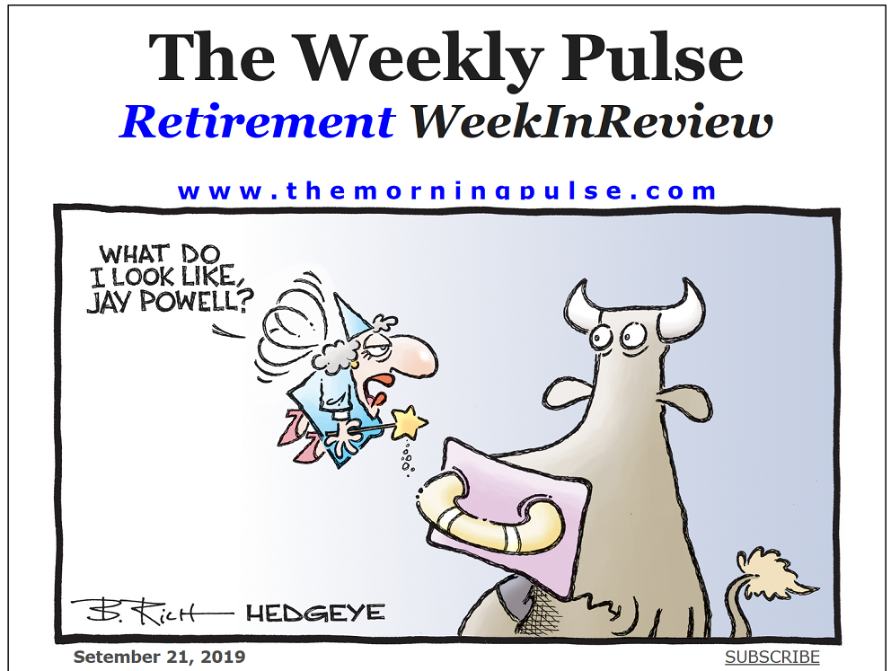 The Weekly Pulse – September 21, 2019