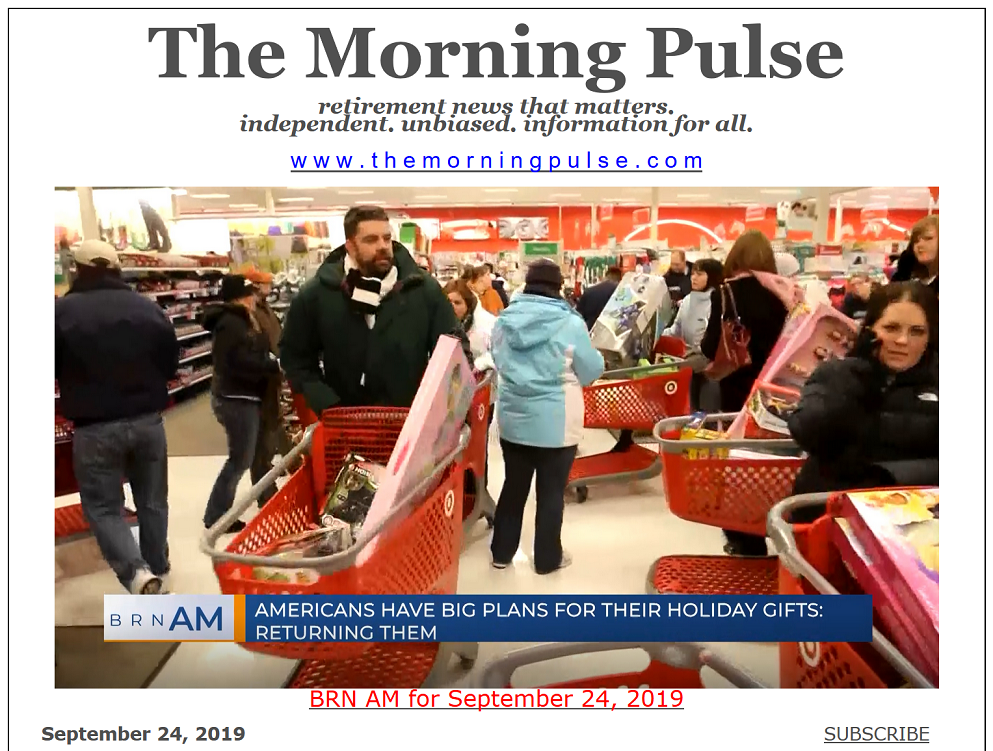 The Morning Pulse – September 24, 2019