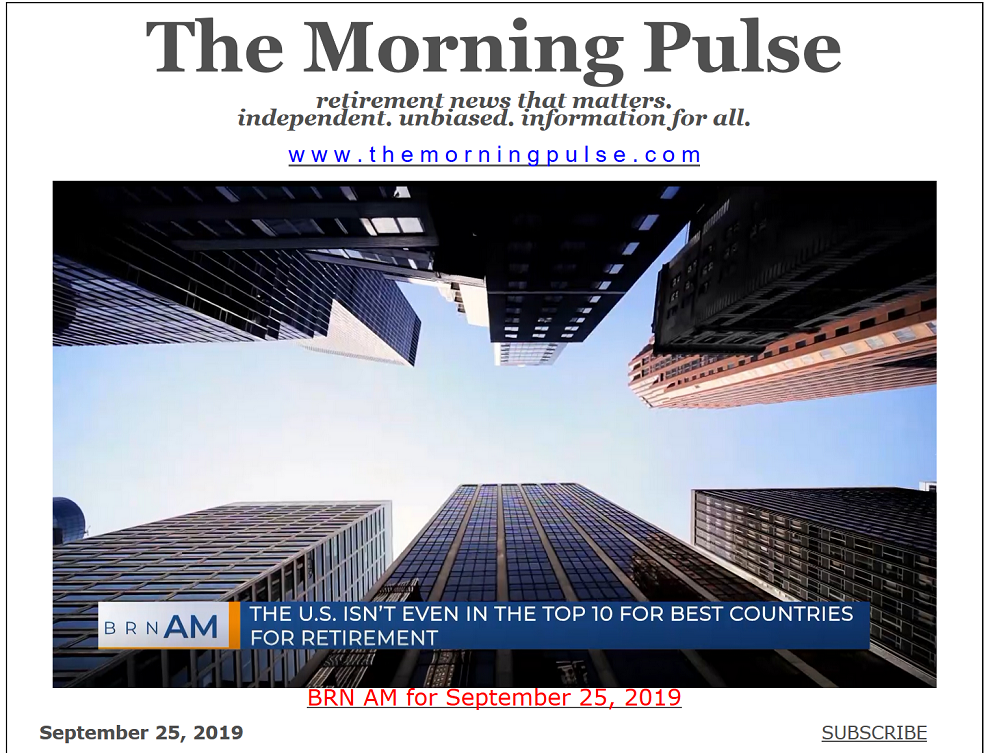 The Morning Pulse – September 25, 2019