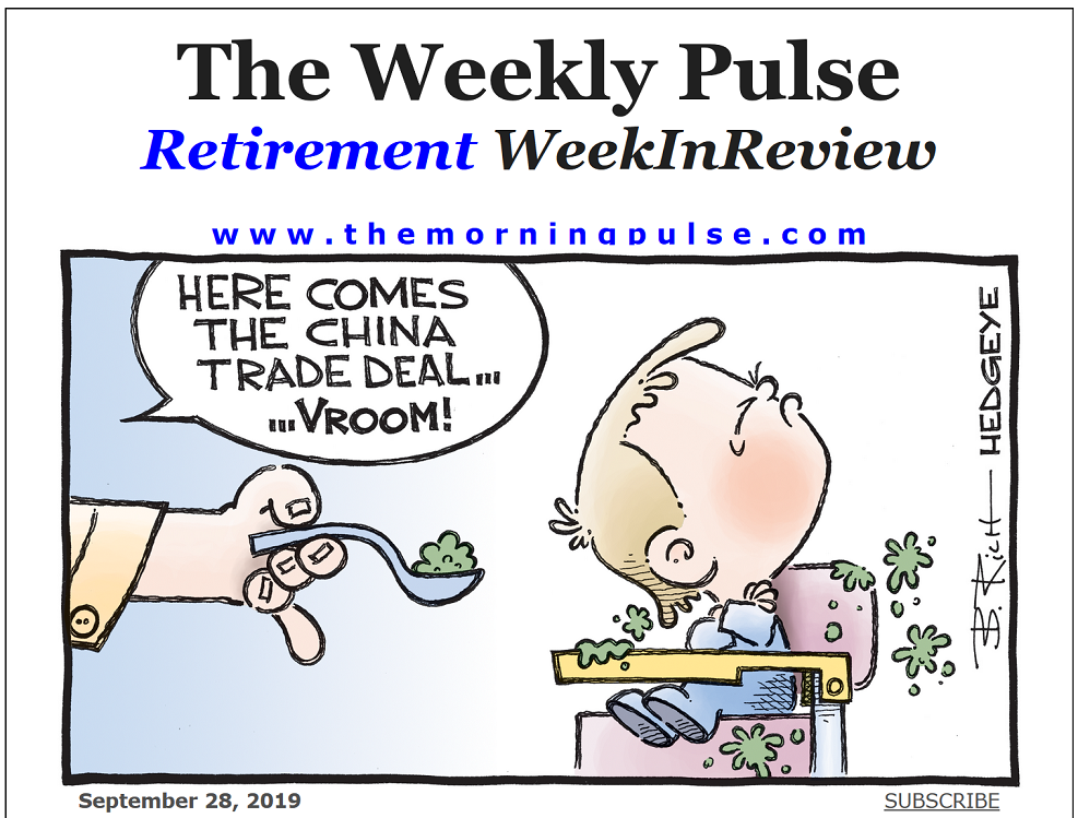 The Weekly Pulse – September 28, 2019